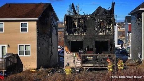 هفت فرزند یک خانواده پناهنده سوری، قربانی آتشسوزی در هالیفکس کانادا 7