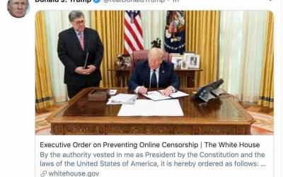 دستور اجرایی ترامپ علیه شبکههای اجتماعی