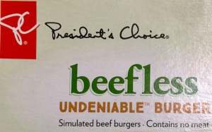 PC beefless burgers recalled