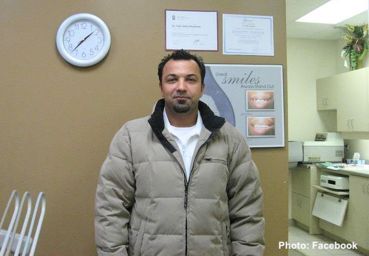 امیر حیدریان، دندانپزشک تورنتو