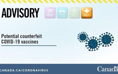 هشدار وزارت بهداشت کانادا درباره خرید واکسن کرونا به صورت آنلاین