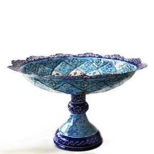candy dish with pedestal