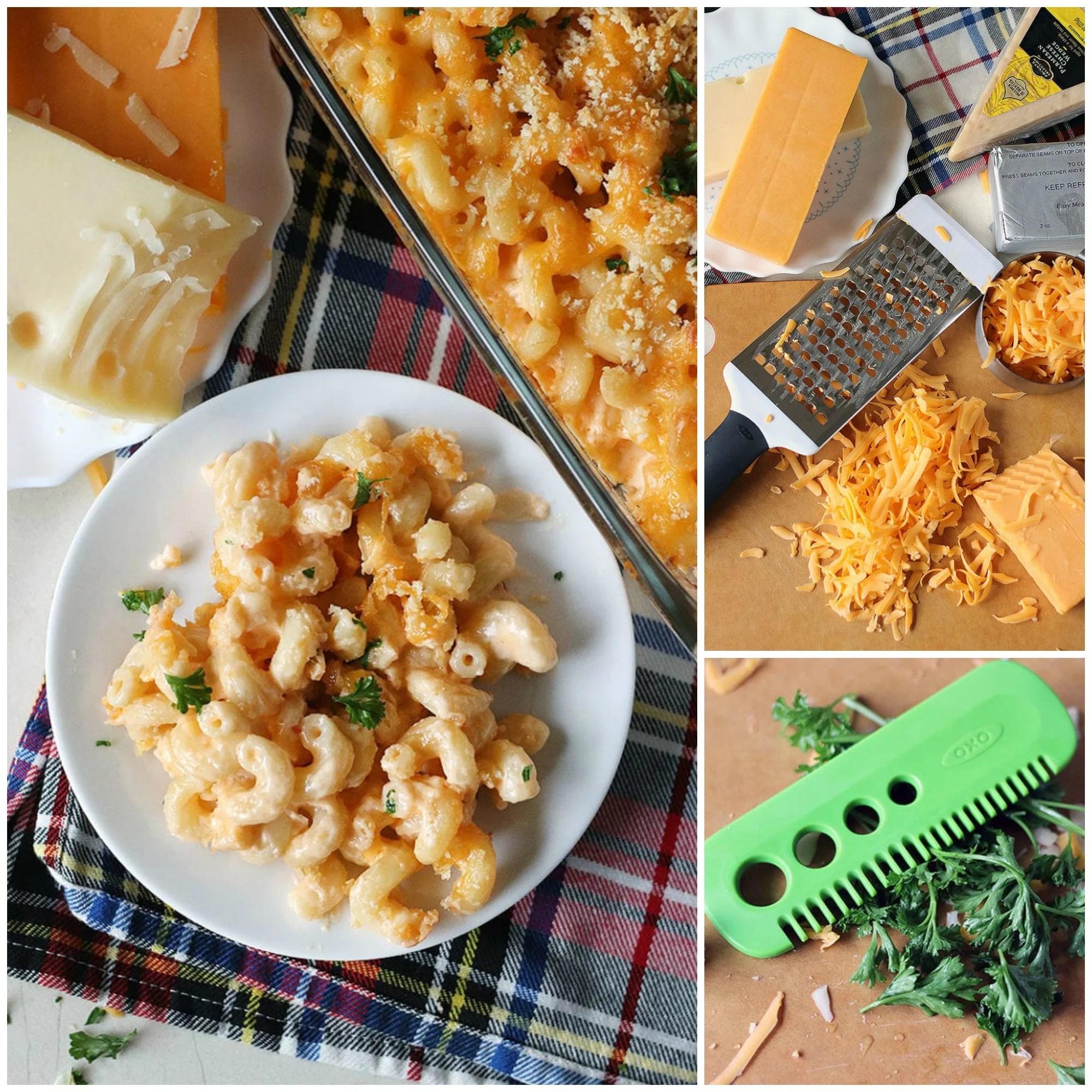 Macaroni and Cheese Potpies