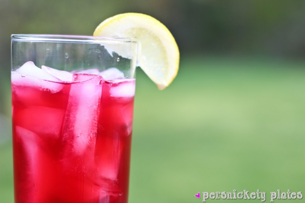 Copycat Starbucks Passion Tea Lemonade | Persnickety Plates