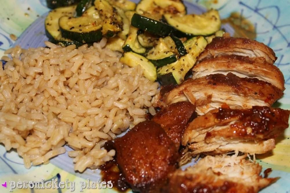 Crock Pot Honey Bourbon Chicken Persnickety Plates