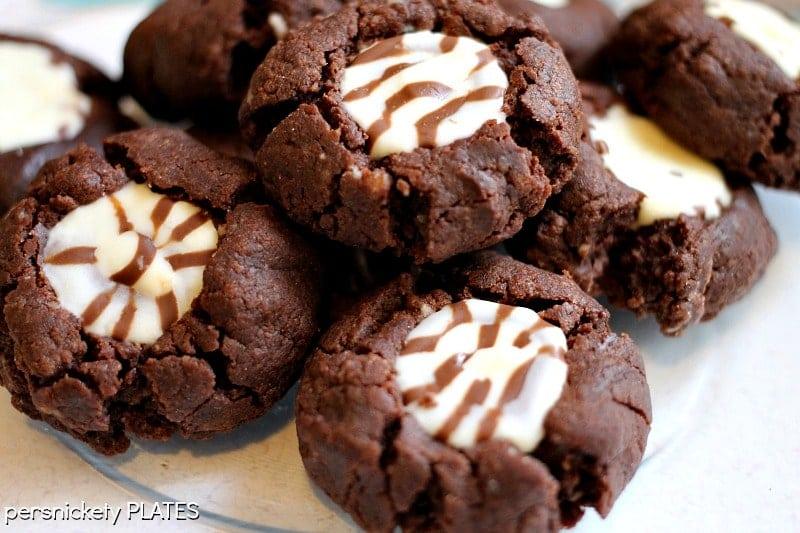 Fiesta Fudge Cookies | Persnickety Plates