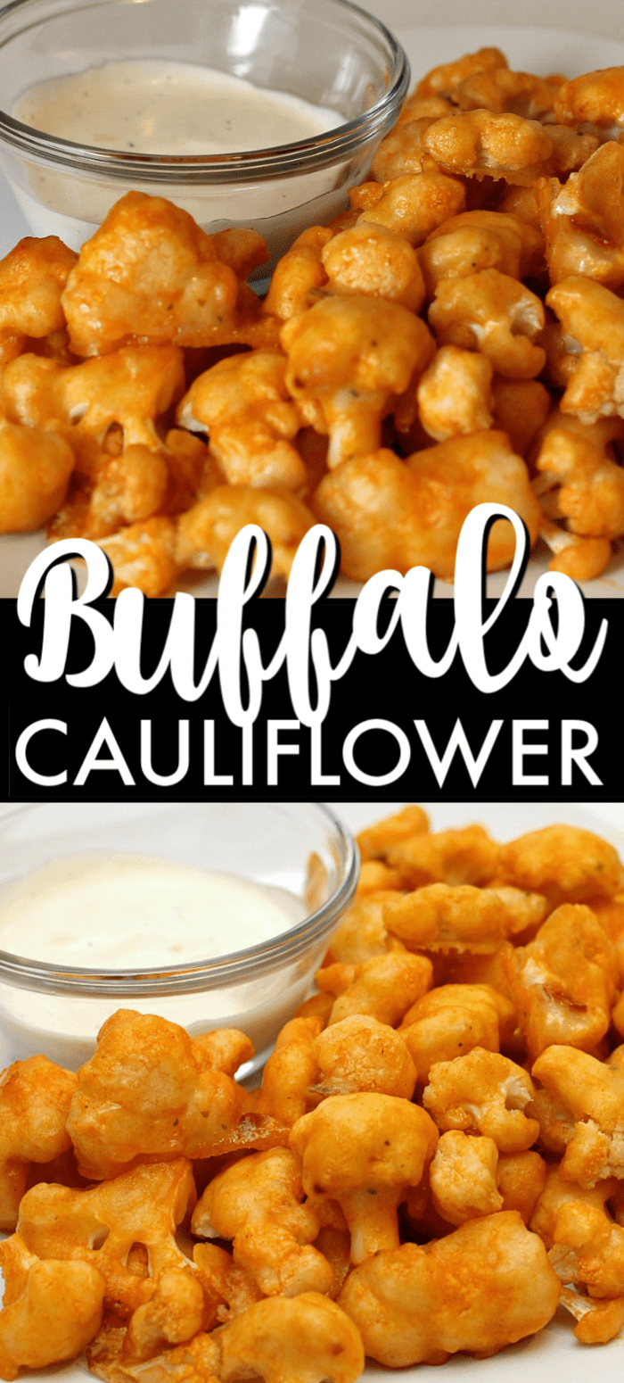 A spicy, healthy, vegetarian, delicious alternative to chicken wings, these cauliflower buffalo wings have been pinned over 600K times because they're that good! | www.persnicketyplates.com #cauliflower #vegetarian #buffalocauliflower #wings #gamedayfood #appetizer #easyrecipe #sidedish #vegetable via @pplates