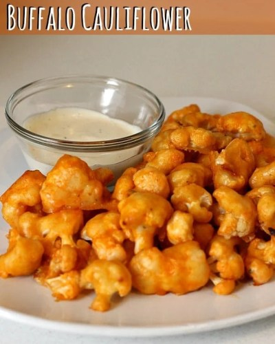 Buffalo Cauliflower | Persnickety Plates