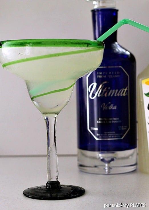 Ultimate Lemonade - a slushy, boozy, drink full of vodka and lemonade that's perfect for summertime!