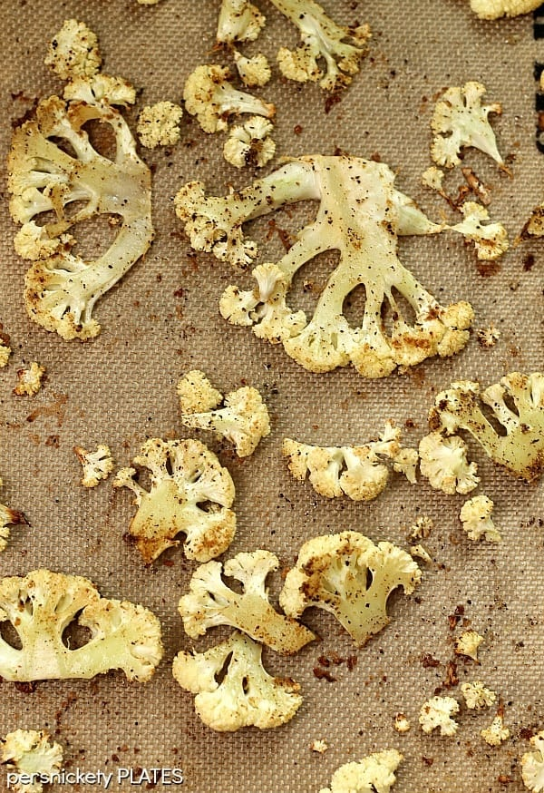 Oven Roasted Cauliflower | Persnickety Plates