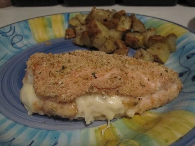 Laughing Cow Chicken is a lightened up version of a stuffed chicken breast. This super easy, 5 ingredient dinner will please your picky eaters and wow your foodies.