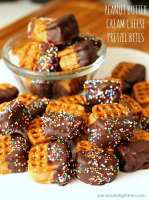 Peanut Butter Cream Cheese Pretzel Bites | Persnickety Plates