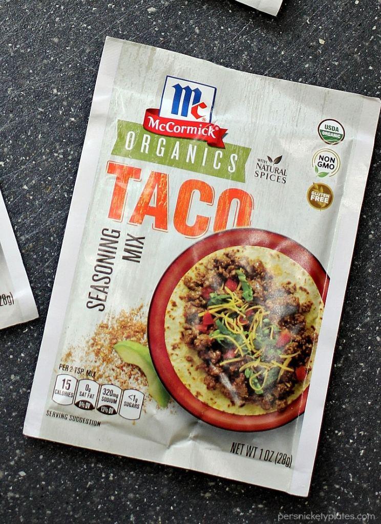 McCormick's Organic Taco Seasoning Mix