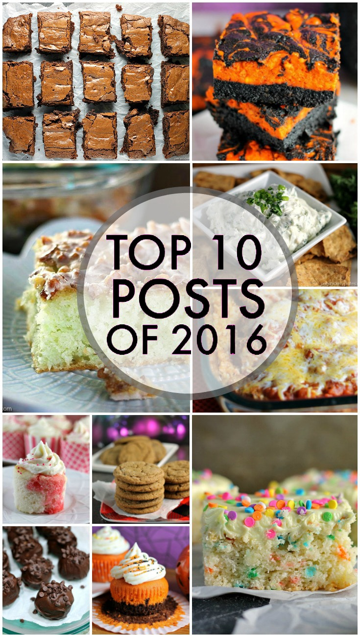 The top 10 posts of 2016 on Persnickety Plates! The most popular, most viewed, YOUR favorites. | www.persnicketyplates.com via @pplates