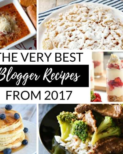 2017 bloggers best recipes