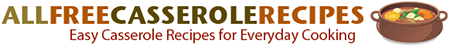 all free casserole recipes logo