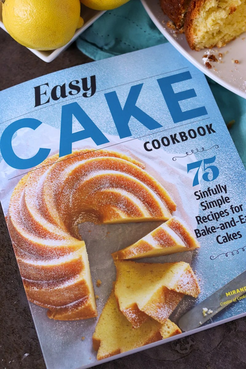 easy cake cookbook