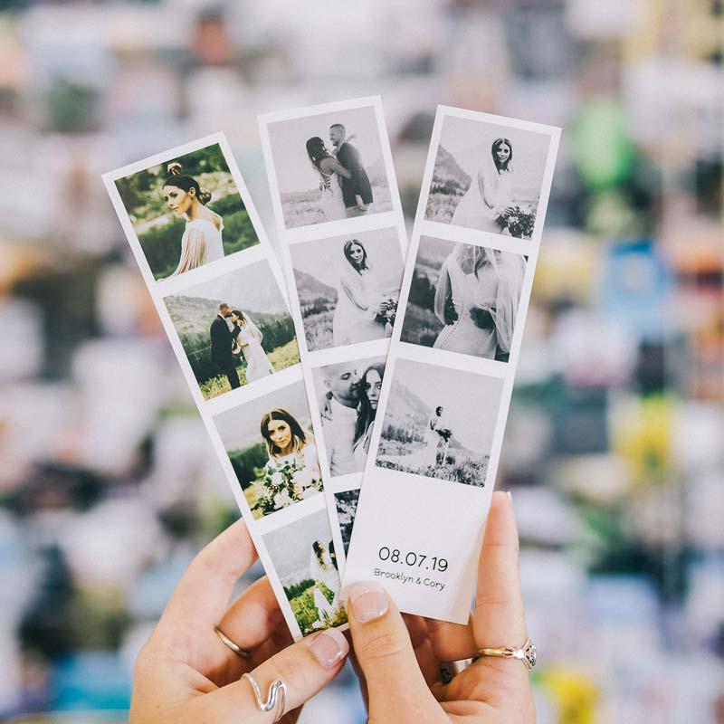Photo strip prints