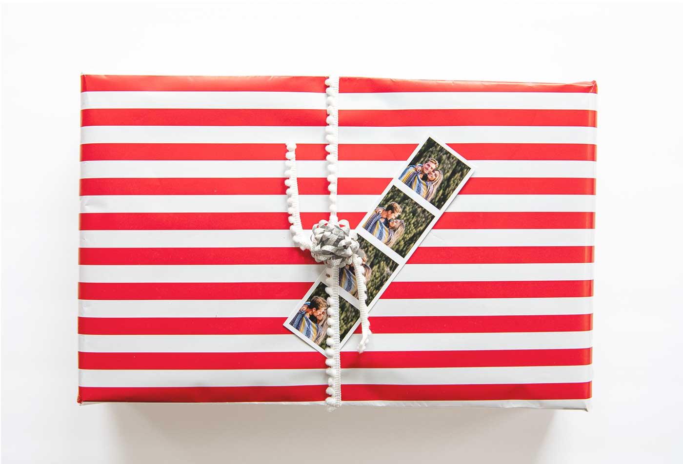 photostrip christmas DIY