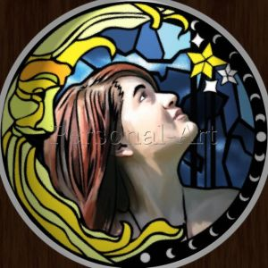 Stained Glass Portrait