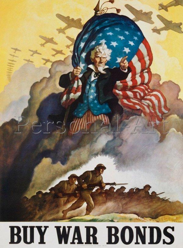 US Propaganda Poster
