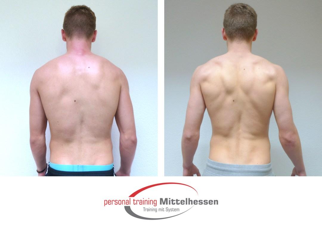Muskeln aufbauen Julian Sch back