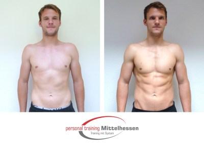 Muskeln aufbauen: Ergebnis von Vaclav K