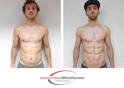 Körperfett reduzieren: Ergebnis von Julian S