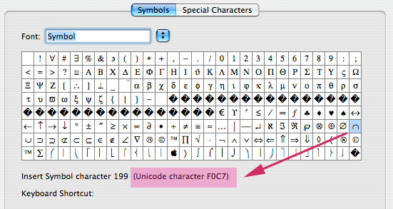 Ascii Character Set Codes