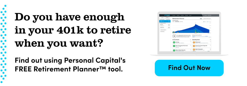 Do you have enough in 401k to retire whenever you want?