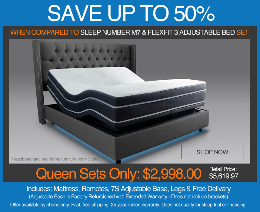 Adjustable Beds On Sale Closeout Pricing Free Shipping