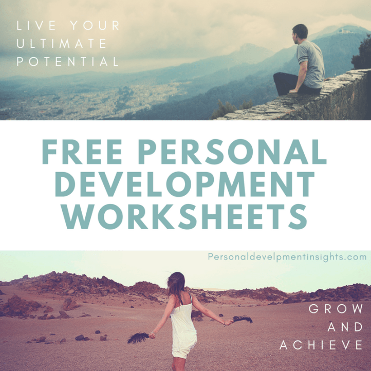 Free Personal Development Worksheets
