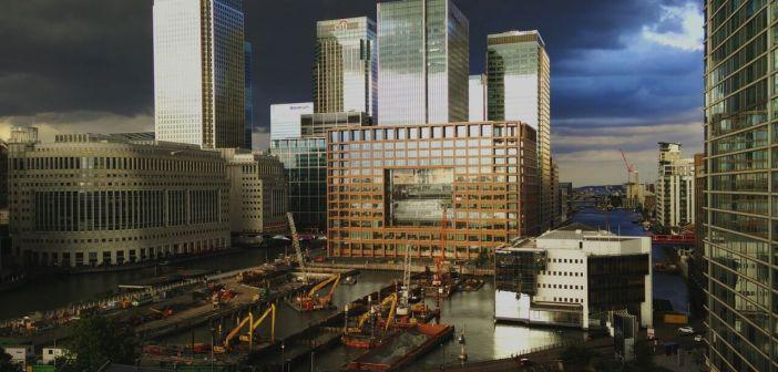 London building site