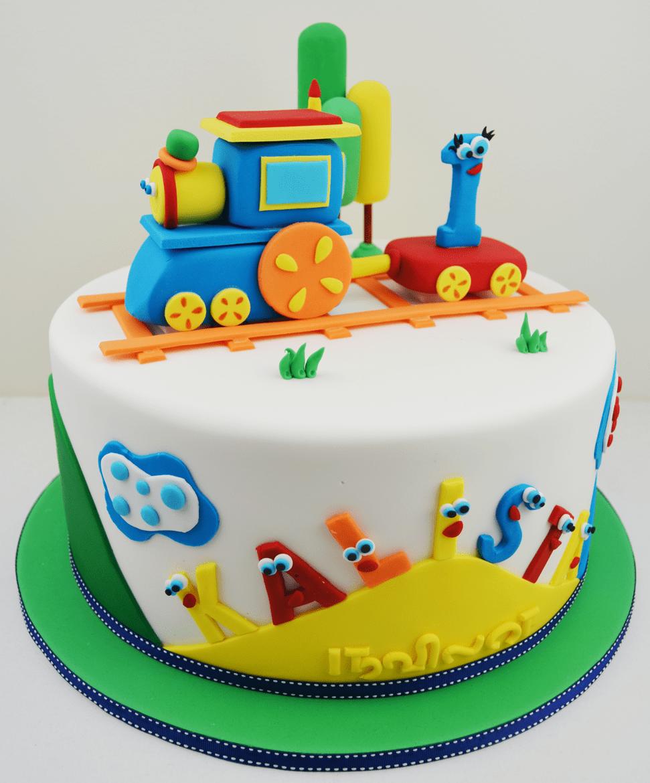 Boy Birthday Cakes Train