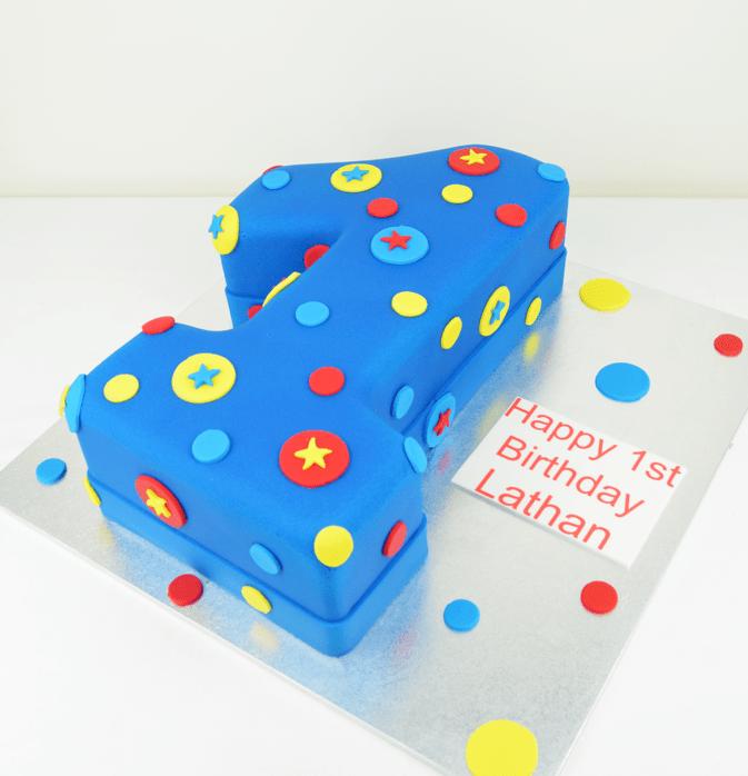 Swell Number 1 Cake Kids Cakes Cakes Sydney Personalised Birthday Cards Beptaeletsinfo