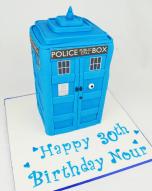 tardis cake , personalised cakes , custom cakes , adult birthday cakes , birthday cake sydney