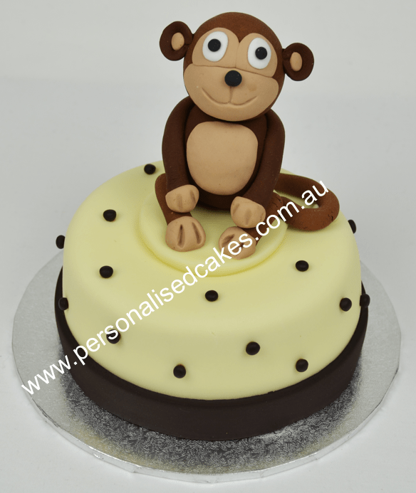 mini cakes monkey cake birthday cakes sydney cakes