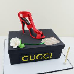 Gucci heel cake, cakes sydney