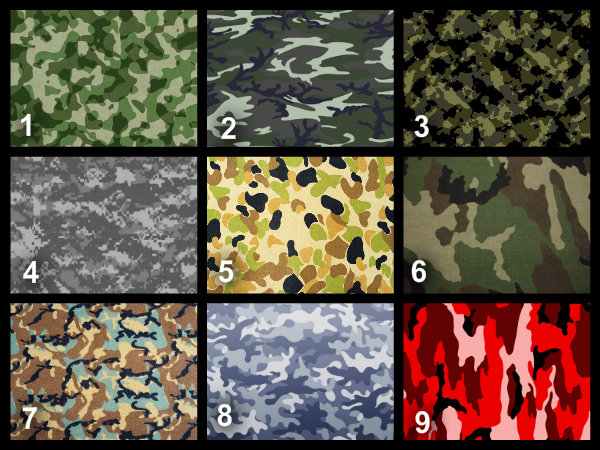 Personalised Army Camouflage Edible Cake Topper Wafer Paper Icing Paper