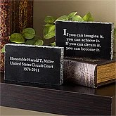 Personalized Lawyer Keepsake Gift - Inspiring Messages - 10347