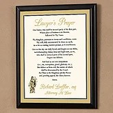 Lawyer's Prayer Personalized Wall Plaque - 1710