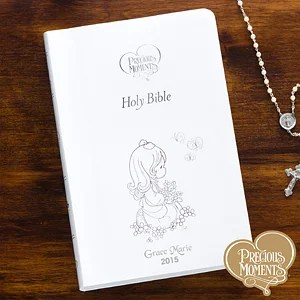 Personalized Childrens Bible Precious Moments 12140