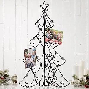 Tabletop Christmas Card Display Holder Christmas Tree