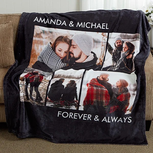 Personalized Photo Fleece Blankets - Picture Perfect - 5 ...