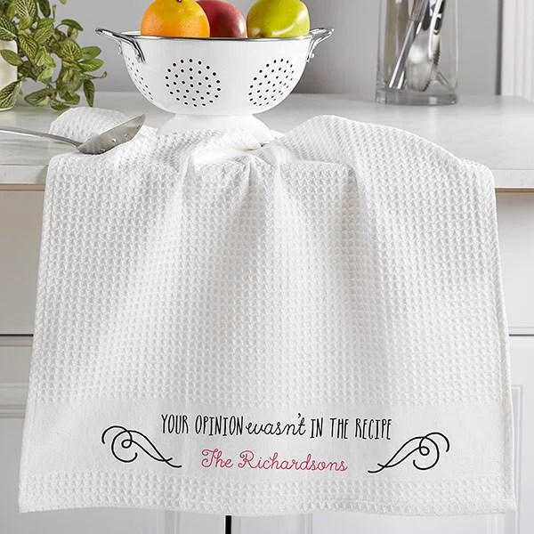 Sassy Cook Personalized Kitchen Towel Set