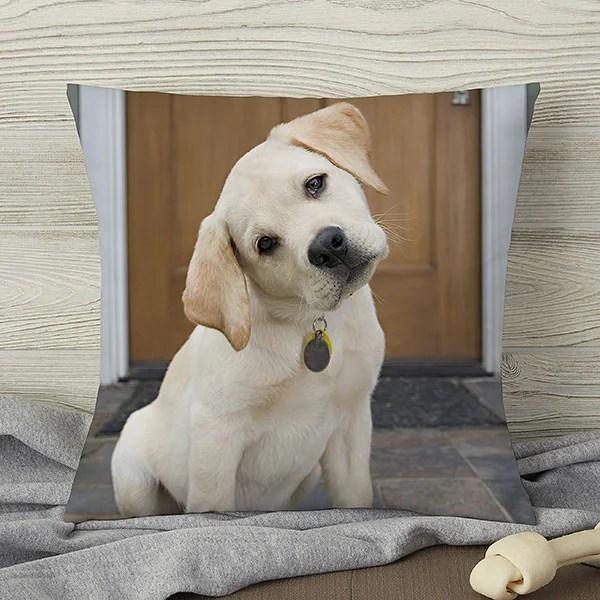 personalized pet photo pillows pet memories small