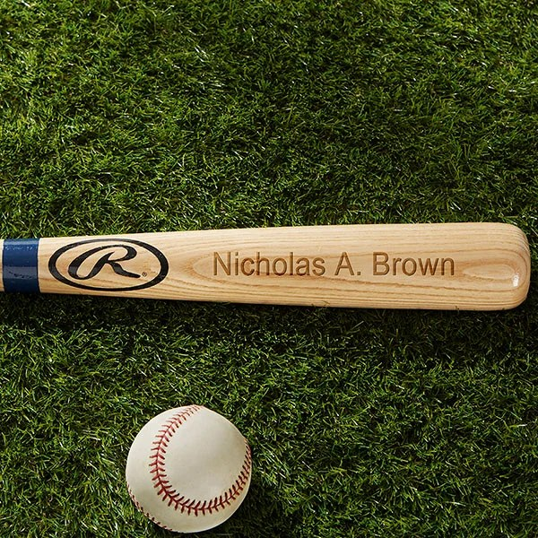 Personalized Wooden Baseball Bats