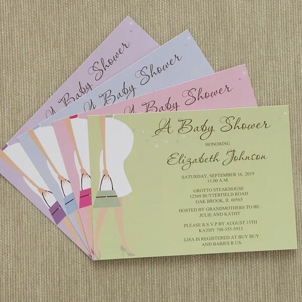 Baby P Shower Invitations