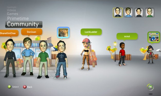 Marketing to New XBox Experience and PS3 Home Avatars