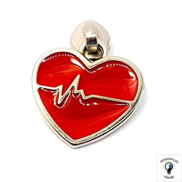 coração vermelho Nº 05